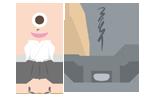 おばけ・妖怪のイラスト