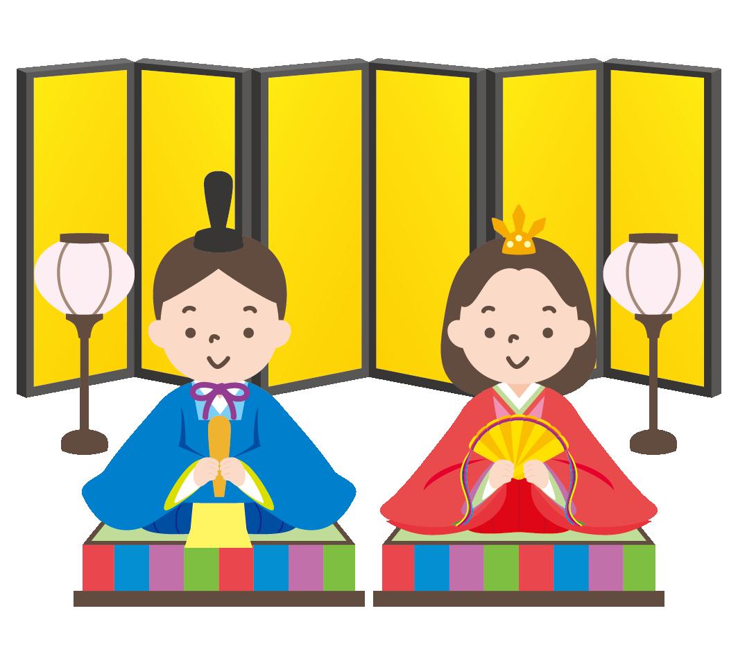 雛人形 お雛飾り のイラスト 高品質の無料イラスト素材集のイラサポフリー