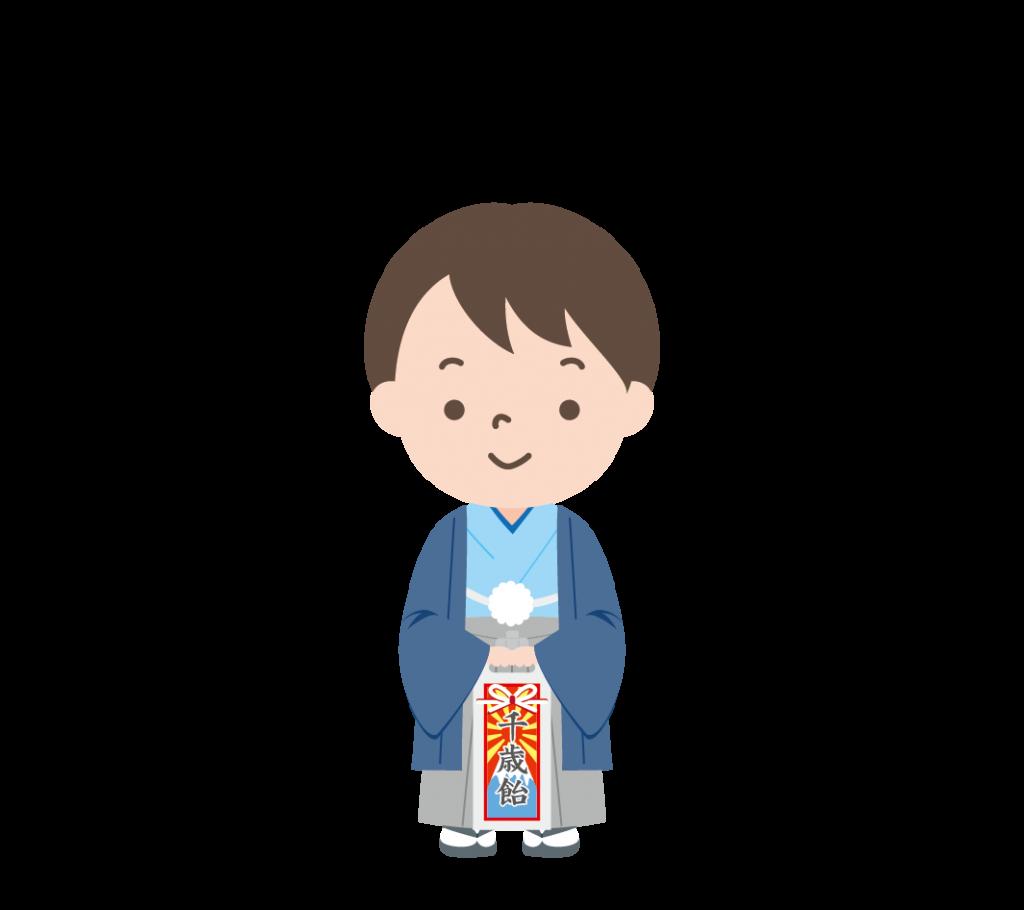 七五三(5歳)のイラスト