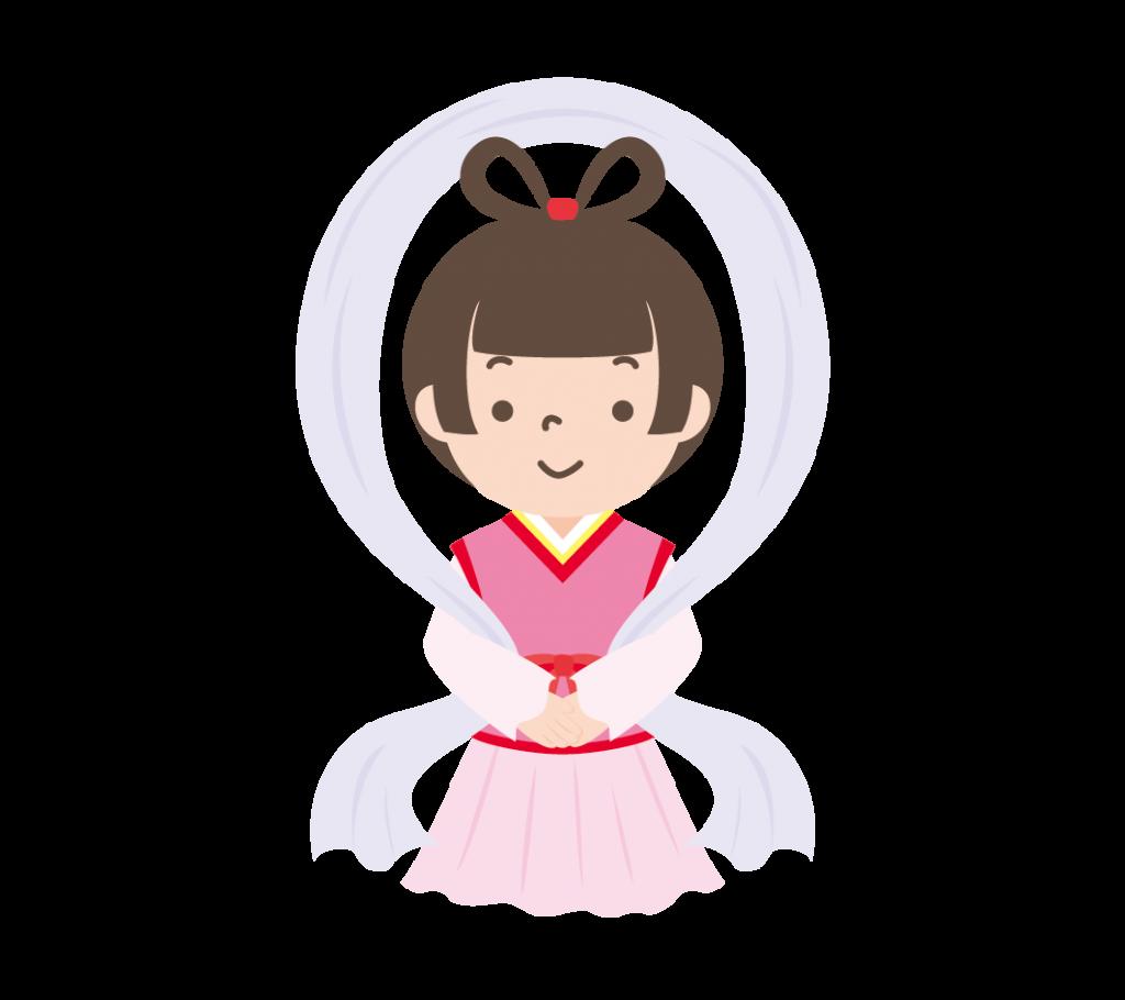 織姫のイラスト