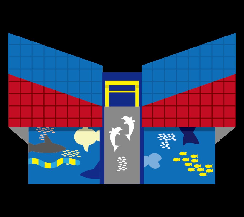 海遊館のイラスト