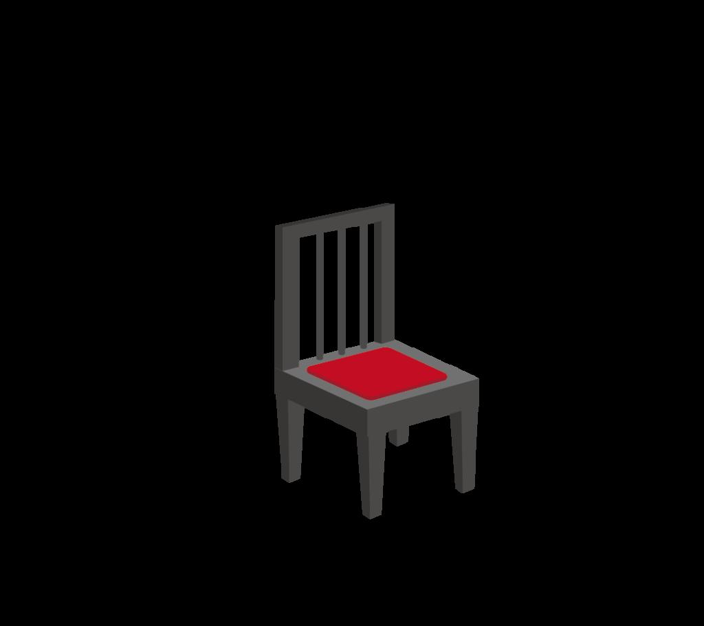 ピアノの椅子のイラスト