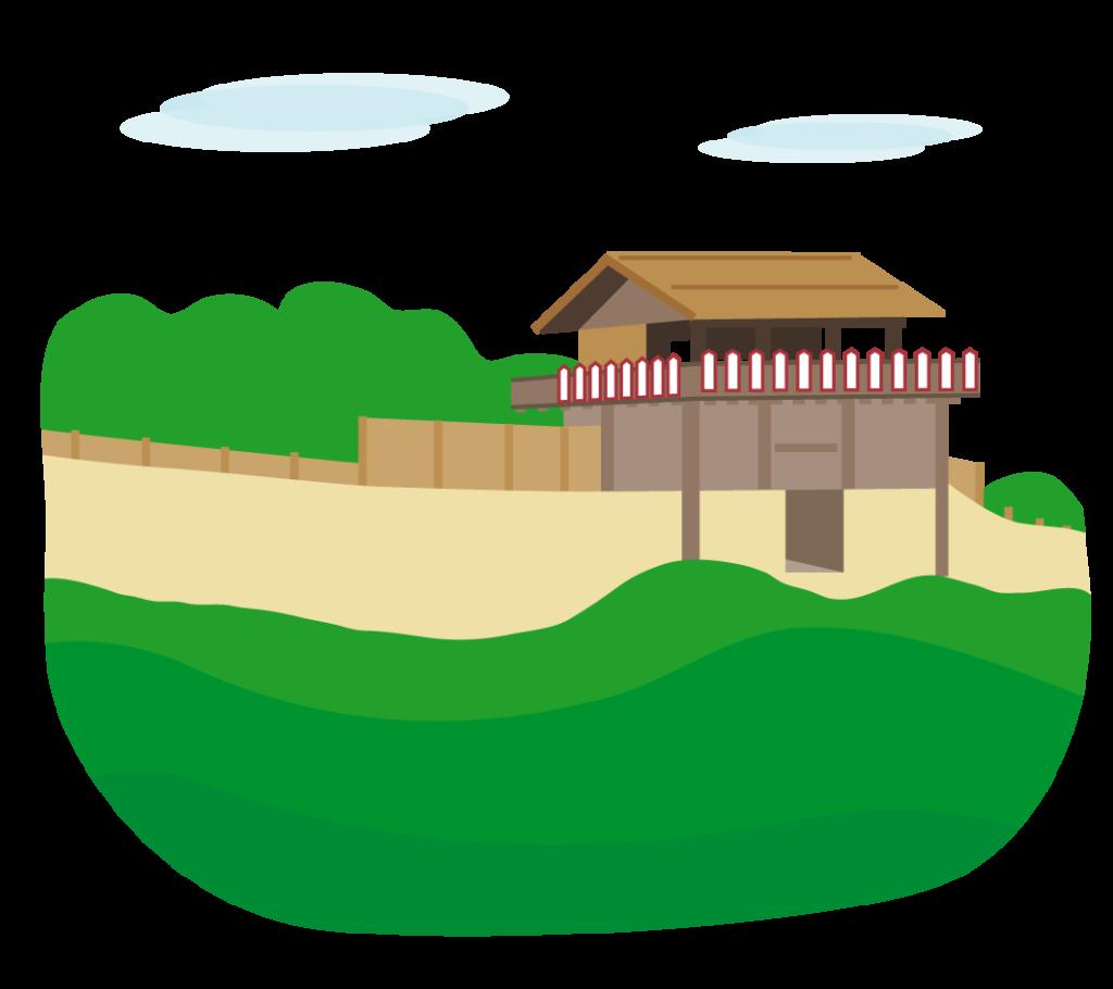 鬼ノ城のイラスト