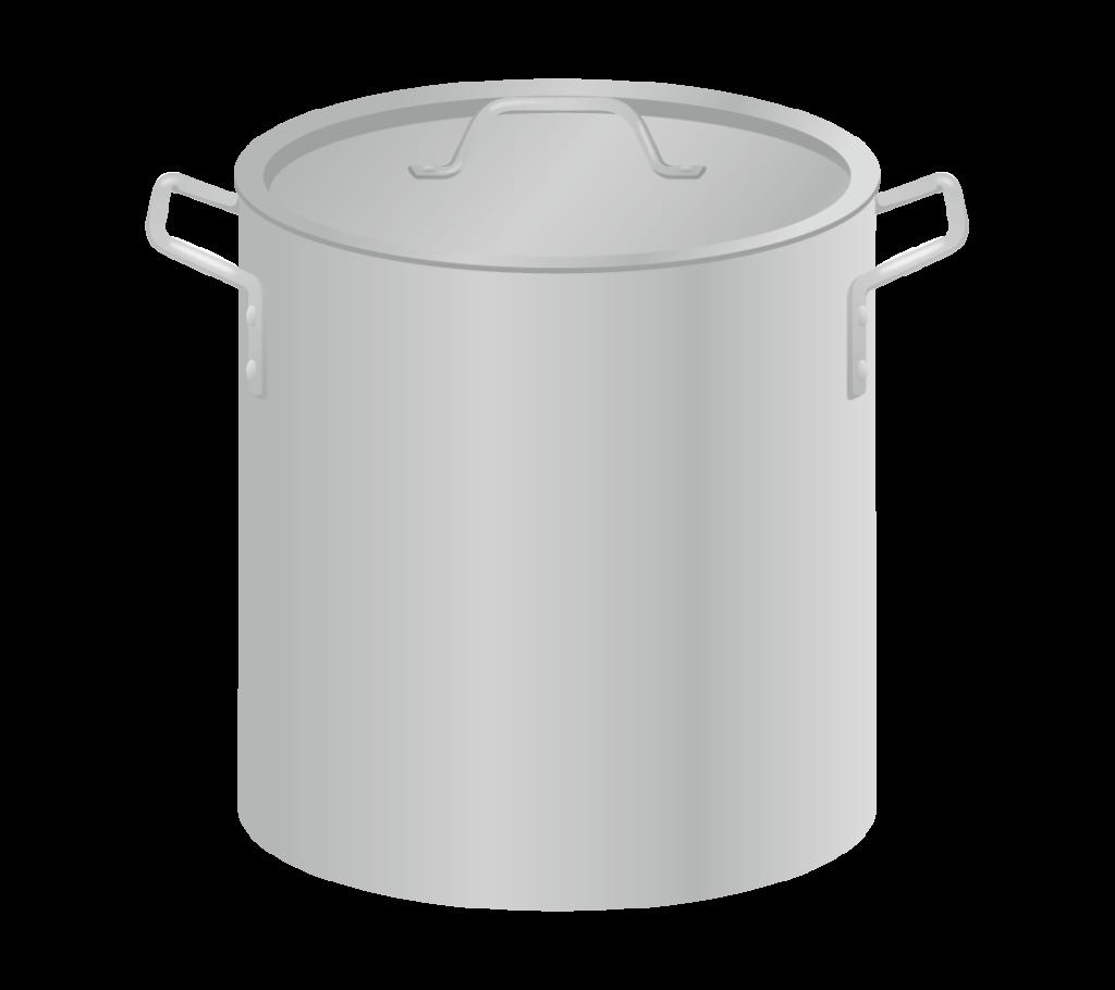寸胴鍋のイラスト