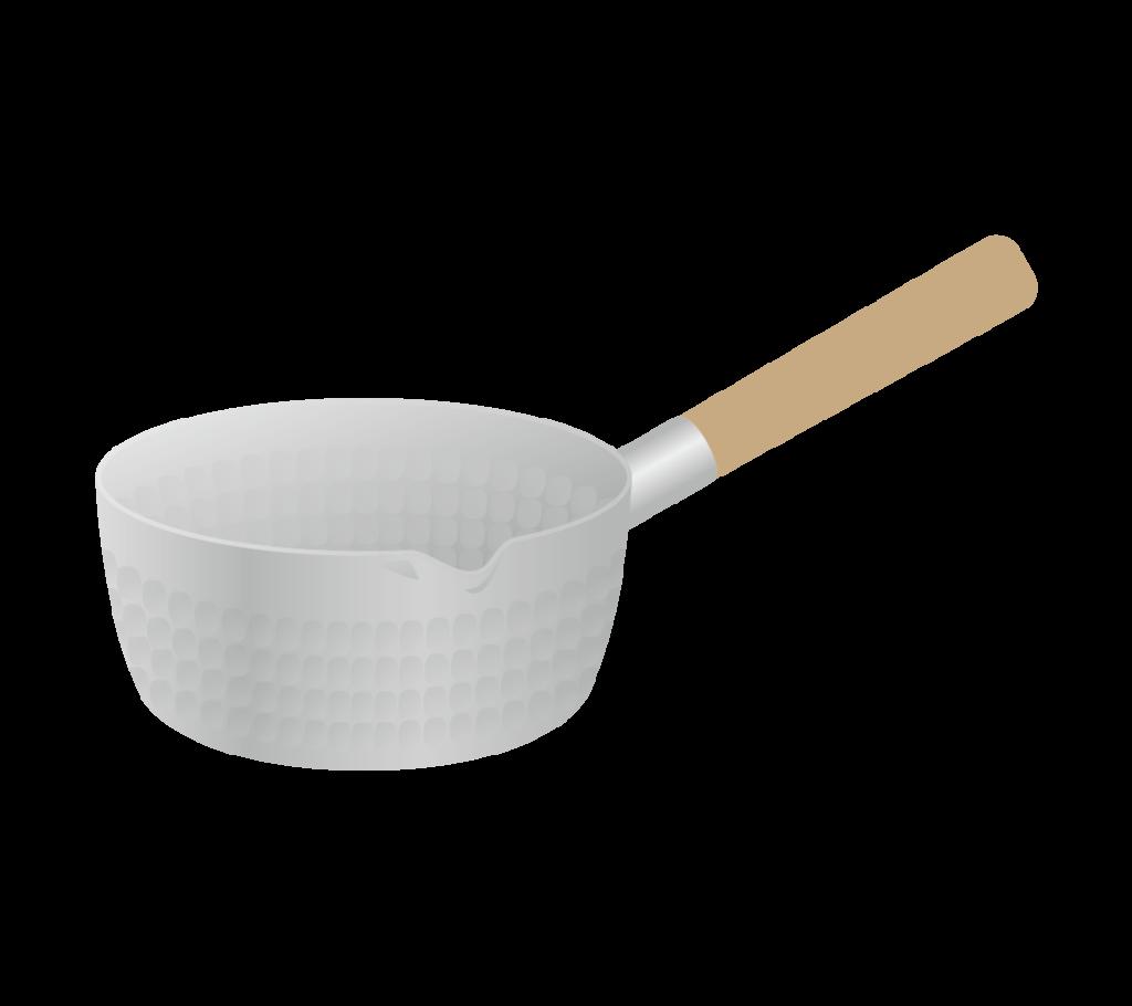 雪平鍋のイラスト