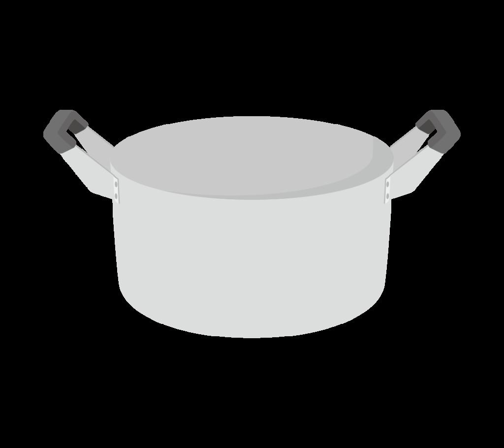 両手鍋のイラストその2