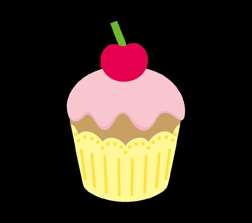 カップケーキのイラストその1