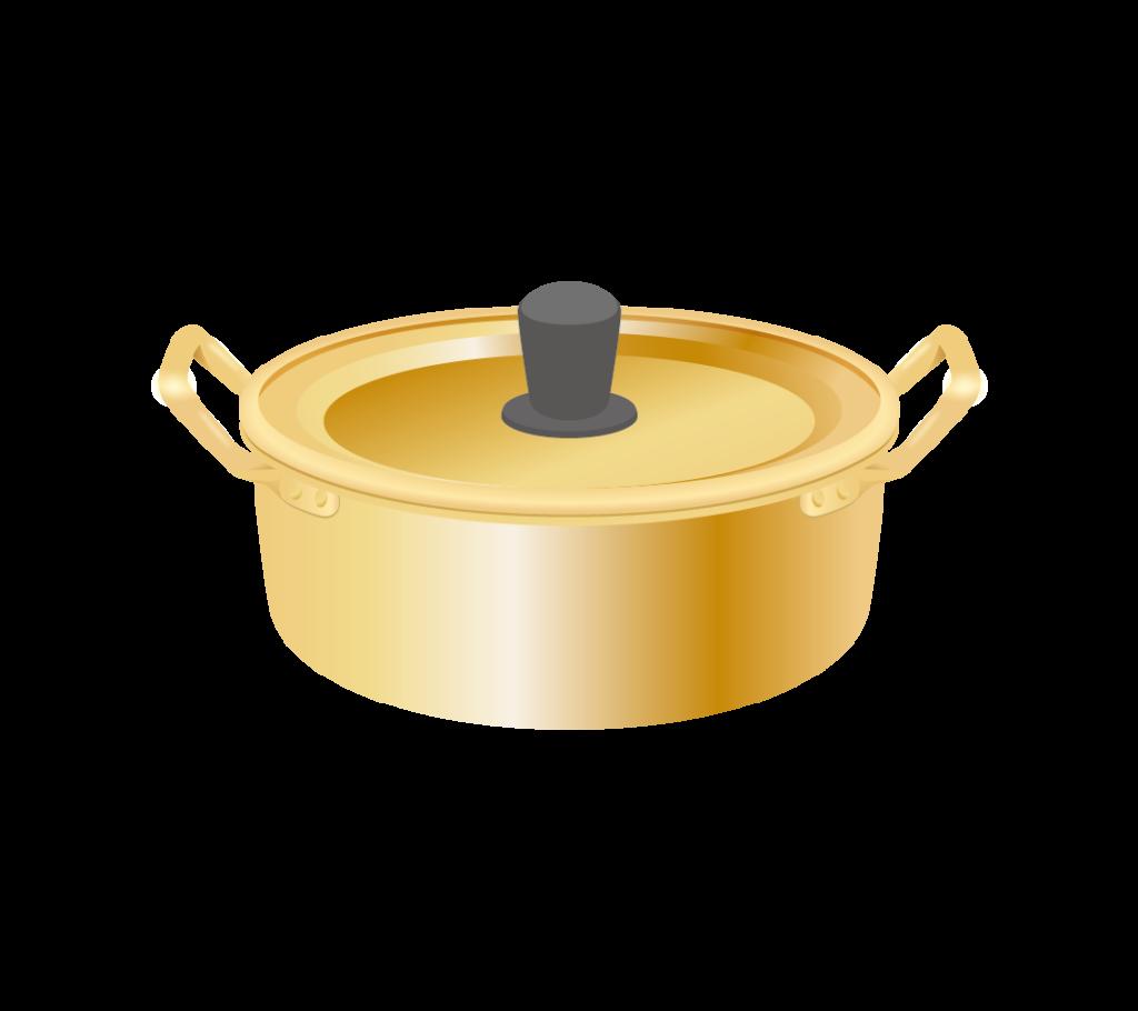 ラーメン鍋のイラスト