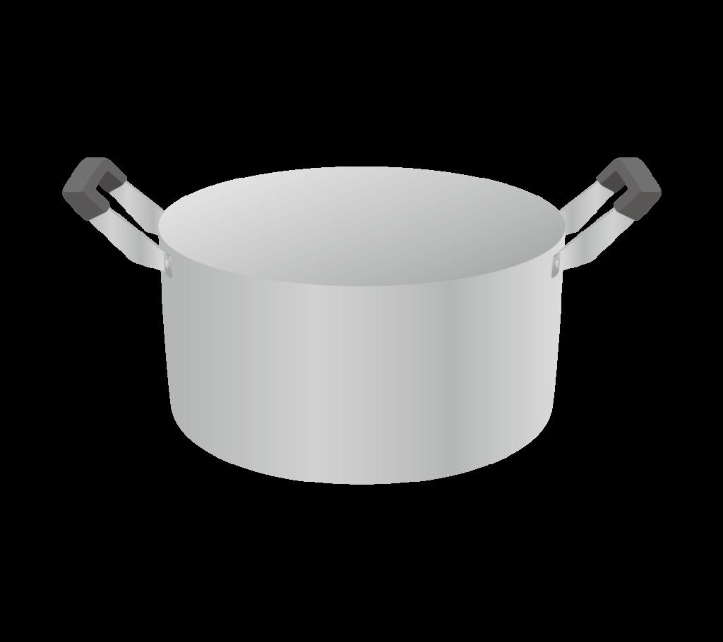 両手鍋のイラストその1
