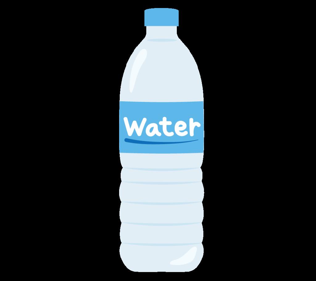 水(ミネラルウォーター)のイラスト