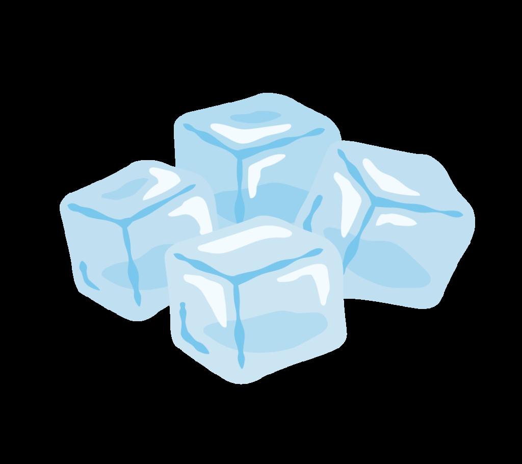 氷のイラストその1